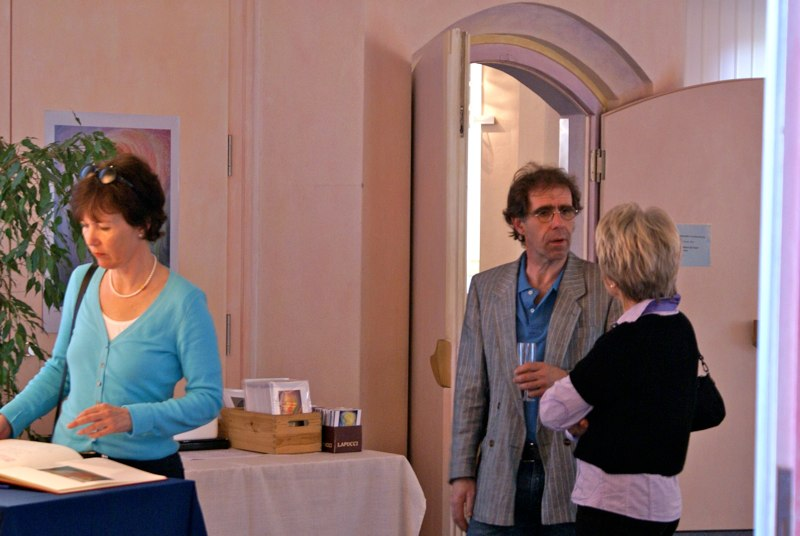 Silvia Gronemann; Ausstellung Agape, 2010