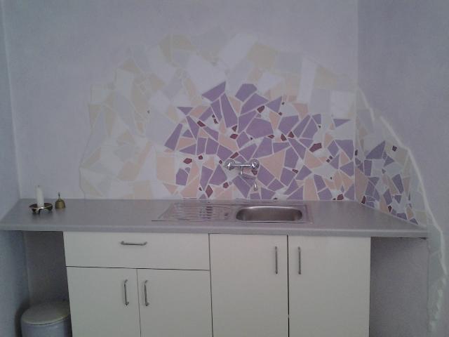 Mosaik Sakristei im Hermann-Keiner-Haus