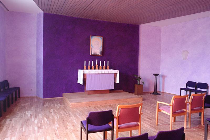 Kapelle im Hermann-Keiner-Haus